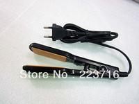 Free Shipping Mini Flat  Iron  Hair Apparatus Best Fashion Beauty Hair Iron USA/RV/UK/AU/Plugs
