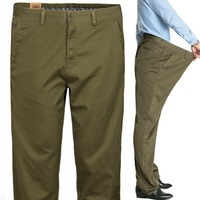 Men plus size trousers plus size plus size casual loose trousers pants fat