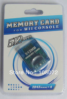 New 512MB  memory card for Wii and GameCube