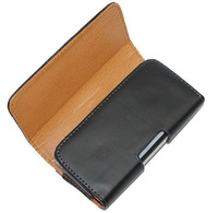 Leather Smooth pattern Phone Pouch Bags Cases with Belt Clip for nokia e72 Accessories