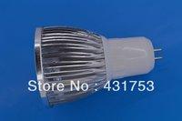 GU5.3LED spotlights 12W (4 * 3W)  LED lamp 85-265V AC warm white / white / cool white bulb free shipping ( high brightness )