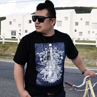 Fat jsmix planet plus size men's clothing x1210 summer plus size plus size male print short-sleeve T-shirt