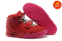 Wholesale Hot Sale Air Yeezy Kanye West Men's Sports Basketball Shoes (varsity red / rave pink)