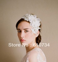 VH0804 Beautiful Twigs Honey Hairwear With Crystal White Women Wedding Accessories Bridal Hairwear