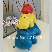 Wholesale 20cm creative gift cute PU leather Hippo toy doll quality doll free shipping