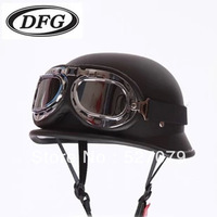 Fashion vintage ww2 german military motorcycle half helmet paintball airsoft tactical steel helmets electric scooter 2013