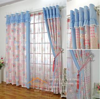 online kaufen gro handel blau kariert volant aus china. Black Bedroom Furniture Sets. Home Design Ideas
