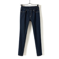 2013 Spring decoration tall thin models female Korean version of the dark blue stretch jeans leggings