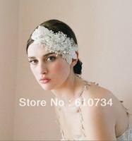 VH0807 Beautiful Twigs Honey Heavy Beaded With Crystal Women Wedding Accessories Bridal Hairwear