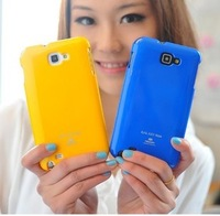 Mercury  for SAMSUNG   i9220 mobile phone case protective case note2 phone case set silica gel shell