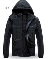 2013 new arrivals high quality men's winter outdoor cotton leisure sports jacket Men weatherization jacket