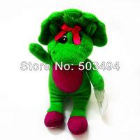 Barney 1pcs 6.7inch/17cm New Barney's Best Friend Baby Bop Plush Singing Figure Toy (I LOVE U) Retail