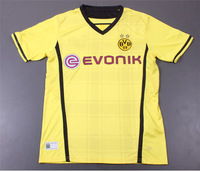 Free Shipping!!!13/14 Dortmund Home Yellow Soccer Jerseys,Thailand Quality Soccer Jerseys+Embroidery Logo football Jerseys