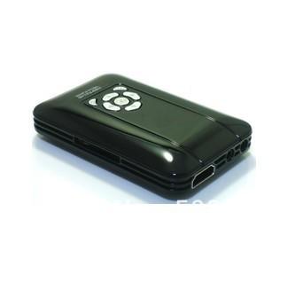 New Media TV Box Portable K5 Global Smallest USB 3D Mini 1080P HD Media Player with HDMI/AV/USB Host/SD/MMC Free  Shipping