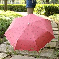 Newest Elargol umbrella ultra-light pencil umbrella anti-uv sun protection umbrella folding sun umbrella 36177