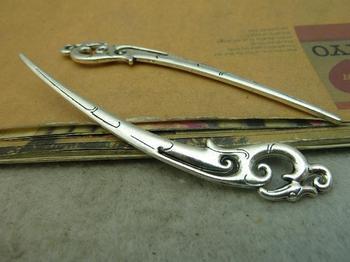 5pcs 22x81mm Antique Silver Bookmarks Charms Pendant  C4570