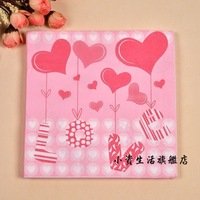 Multicolour table napkin paper table napkin paper personalized paper towel print tissue b72