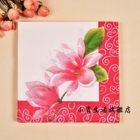Print wedding tissue table napkin paper facial tissue paper multicolour personalized print tissue safetying