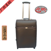 002 pvc luggage commercial trolley luggage travel bag luggage the box bags