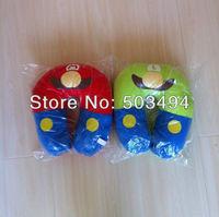 Super Mario Bros LUIGI Neck Pillow 1pcs 12''*11'' Free Shipping Super Mario Bros Child U Shaped Micro Foam Beads Traveling