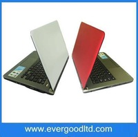 Free Shipping Newest 13.3 inch Intel Atom D2500 Laptop Windows 7 Notebook Computer N13 Memory~2GB HDD~160GB WIFI Camera