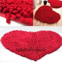 Free Shipping Chenille Doormat Anti Slip Bathroom Mat Carpet Floor Mat for Bedroom Living Room
