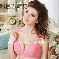 2013 HOT retail free shipping maternity underwear bra wireless nursing bra front opening buckle 100% cotton nursing clothes