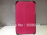 Galaxy Tab 3 7.0 Inch P3200 T210 T211 Cloth Leather Case For Samsung Galaxy Tab 3 7 inch Holsteins Case  50pcs/lot Mix color