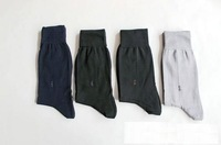 Free shipping Japanese Brand Men Solid Color Dress Socks Cotton Socks 30pcs/LOT