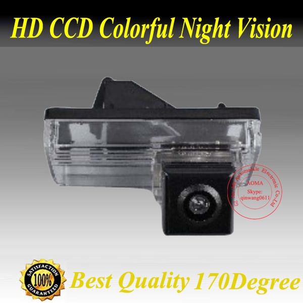 Waterproof night vision wide angle toyota land cruiser/landcruiser car/auto backup rear view reverse camera/camara/kamera(China (Mainland))