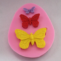 Butterfly Set F0319 Fondant Mold Silicone Sugar mold Craft Molds DIY gumpaste flowers Cake Decorating