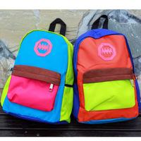 Waterproof school bag primary school students school bag male child schoolgirl double-shoulder child school bag burdens