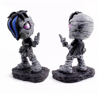 Wholesale LOL arrival 5 inch Mummy Amumu Resin Action figure