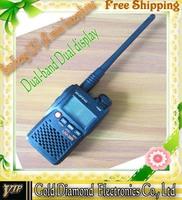 DHL Original Baofeng UV-3R Professional FM Transceiver Walkie Talkie Dual Band Dual display interphone 10pcs/lot free shiping
