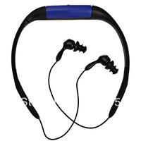 Wholesale - Sport Waterproof MP3 Player 4GB IPX8 FM Radio ear-hanging design  Sport MP3 Free Shipping