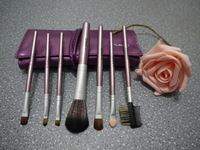Free Drop shipping 7pcs Mary Kay Makeup Brushes, Cosmetic Brushes, Make Up Brushes with COLOR bag -made IN paradsie BR015