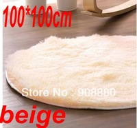 carpet 100*100cm beige round carpet japanese style carpet  rug for home rugs and carpets children on sale free shipping