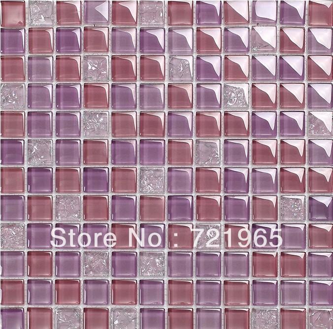glass mosaic kitchen backsplash tile glass mosaic tiles cgmt125 purple