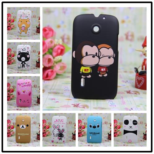 For huawei u8650 phone case color covers cartoon u8661 t8600 u8660 jelly scrub sets(China (Mainland))