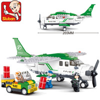 Transport Aircraft Airplane M38-B0362 - 251pcs children educational assembling toys DIY building blocks sets toy Free Shipping