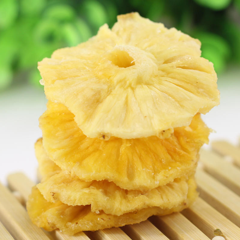 Fashionable casual 2 food pineapple slice dried pineapple fresh dried fruit