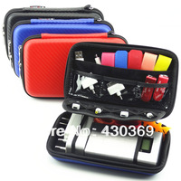 "Free shipping 2.5"" Bag Case for External Hard Drive Disk/Phone/Camera/Mp5 Portable HDD Box Case"