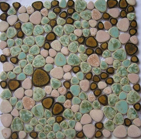 Kiezel stenen tegels promotie winkel voor promoties kiezel stenen tegels op - Porselein vloeren ...