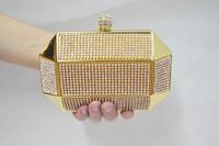New Latest Luxury full rhinestone   day clutch banquet  diamond   clutch  fashion female   Evening Handbag