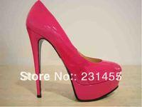 Wholesale Designer Vogue Fashion High heels Platform Wedding Party Dress Shoes, Brand Pumps