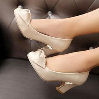 Free shipping fashion trend of the product japanned leather plus size single women's shoes.