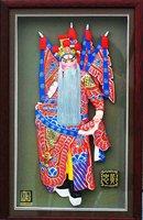 Tianjin clay figurine zhang gift birthday gift crafts --- Huang zhong Beijing Opera characters