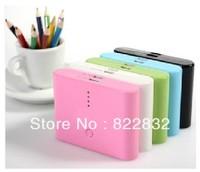 50% off 1pcs/lot 2 Dual USB 12000mAh power bank moblie phone backup powers External Battery pack 12000mAh Free shipping