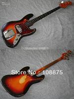 Custom shop High quality Jazz Bass, Sunburst100% Excellent Quality