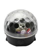 NI5L New 120 Degree Crystal Magic Ball LED Party Light Black Weding Fantastic